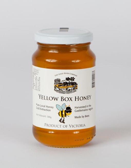 Yellow-Box-Honey-500g